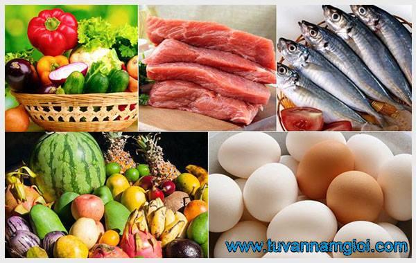 Chế độ ăn lành mạnh sẽ giúp bạn có tinh trùng khỏe mạnh