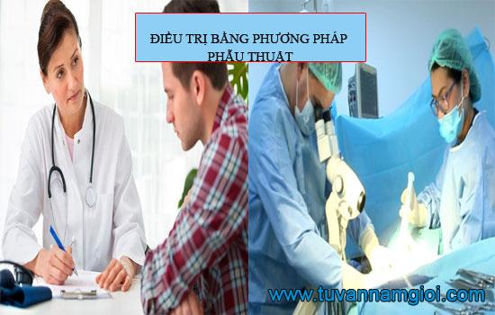 Điều trị bằng phương pháp phẫu thuật