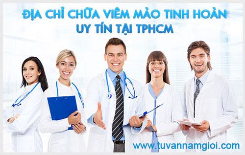 Địa chỉ chữa viêm mào tinh hoàn uy tín tại TPHCM
