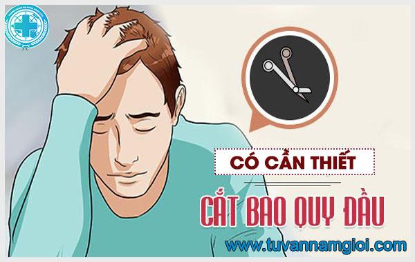 Cắt bao quy đầu là phương pháp hiệu quả cho nam giới bị dài - hẹp bao quy đầu