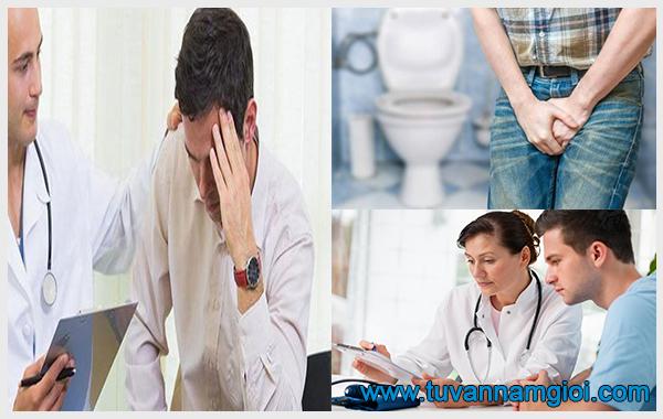 Nam giới cần sớm chữa trị tình trạng đái đau