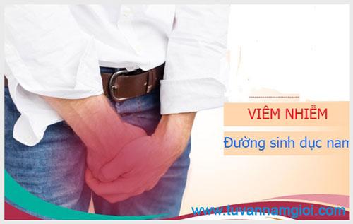 Nguyên nhân gây viêm nhiễm đường sinh dục nam