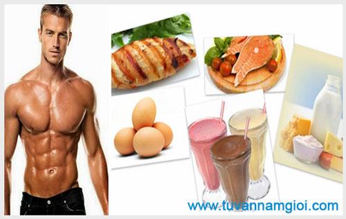 Điều trị nam khoa bằng chế độ ăn uống