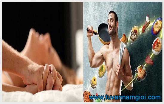 Có nhiều cách tự nhiên giúp tăng khả năng sinh lý cho quý ông