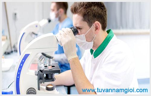 Xét nghiệm tinh trùng ở tphcm